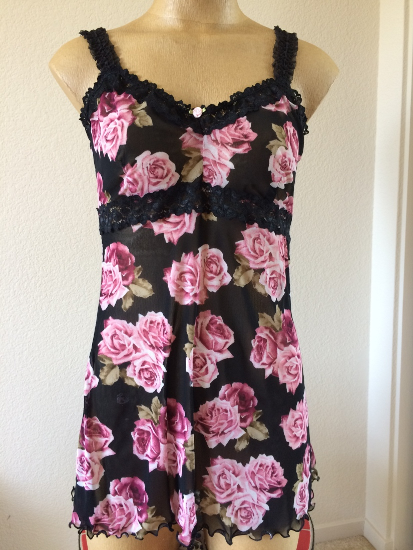 A Pretty Rosy Chemise and Panties from Butterick B6031 – A
