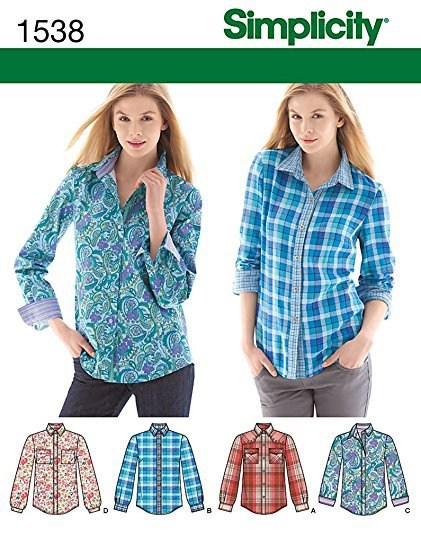 Simplicity 1538 Pattern Cover