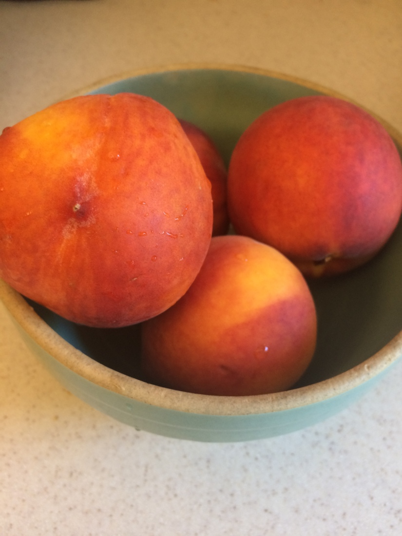 Fresh Peaches for Peach Cobbler