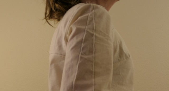 Blue Gingham Blouse Muslin - All Changes