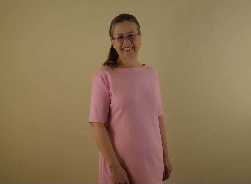 Simplicity D0657 Pink Dress