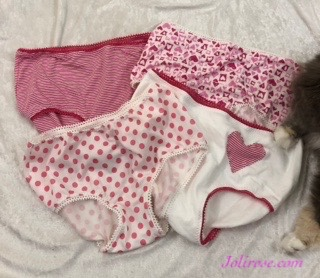 Acacia panties with fabric from Stonemountain and Daughter and the Fabric Outlet