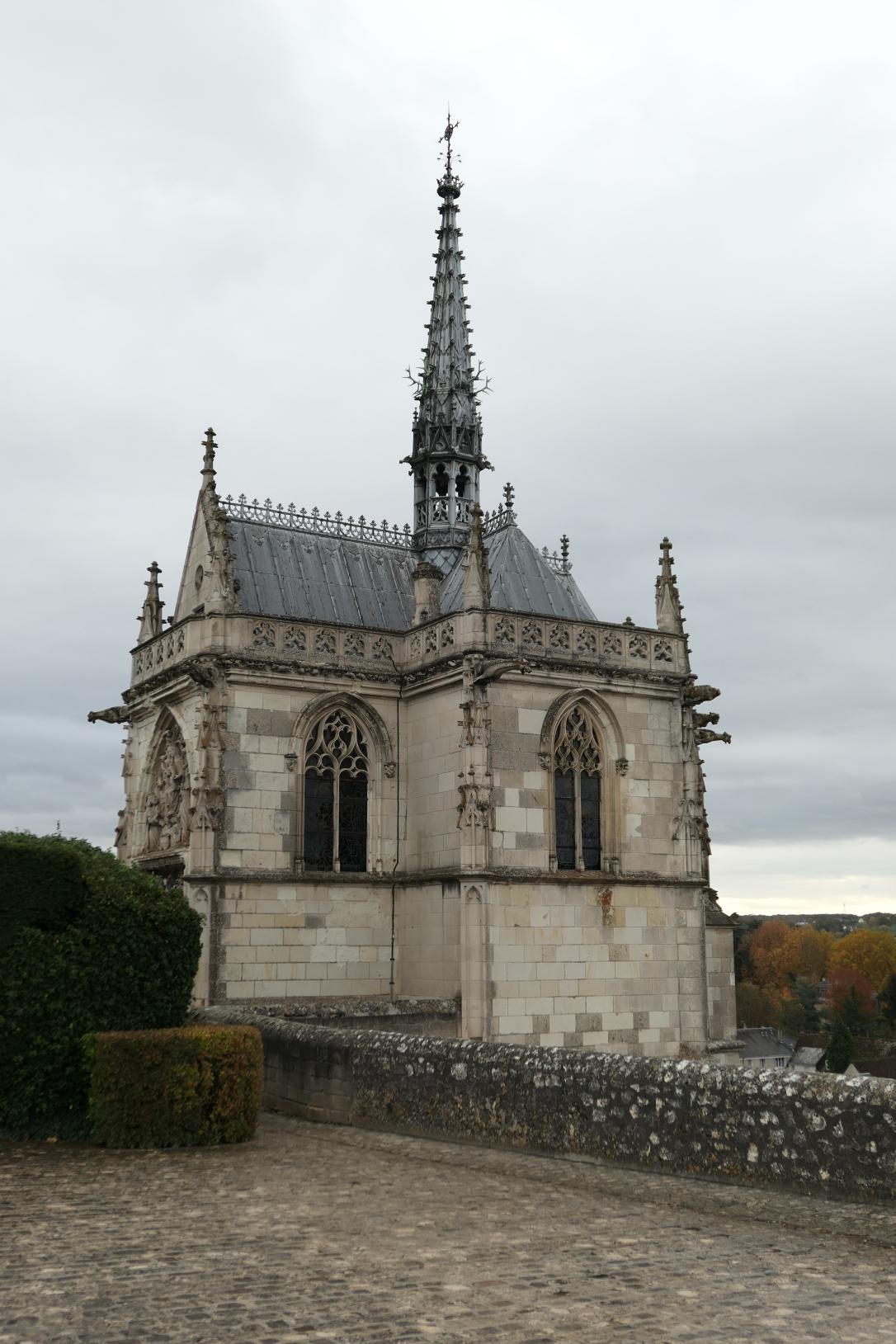 Chateau d'Amboise Chapel of Saint-Hubert Burial Site of Leonardo da Vinci